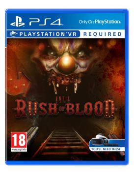 Rush of Blood Until Dawn VR PSVR game